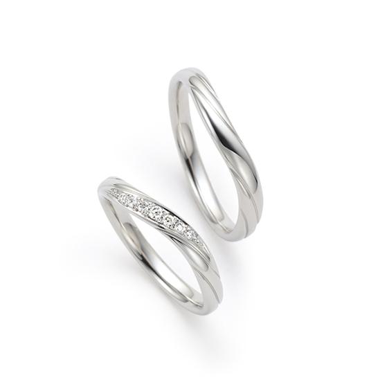 結婚指輪 木の芽風(このめかぜ)
