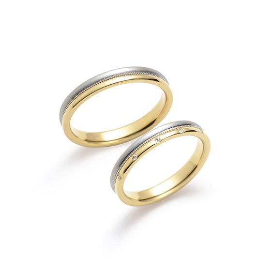 結婚指輪 東雲(しののめ)