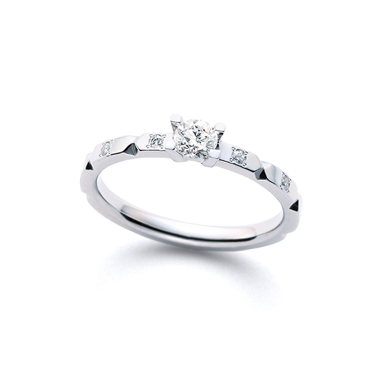 婚約指輪 折り紙